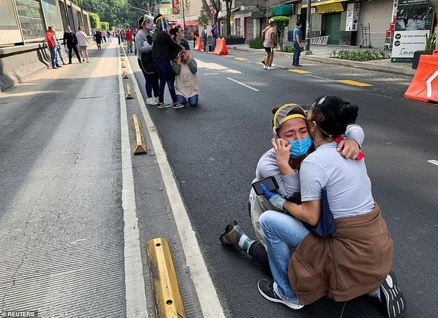 Mexico: Động đất 7,4 độ richter, ít nhất 5 người thiệt mạng - Ảnh 4.
