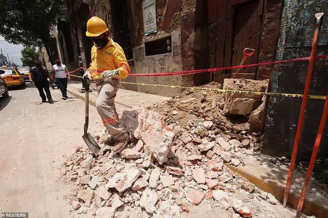 Mexico: Động đất 7,4 độ richter, ít nhất 5 người thiệt mạng - Ảnh 7.