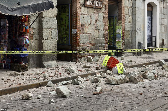 Mexico: Động đất 7,4 độ richter, ít nhất 5 người thiệt mạng - Ảnh 9.