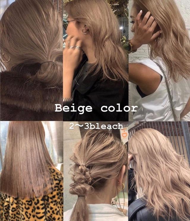 """Hè này mà chơi màu beige cho tóc thì bạn không chỉ xinh ngọt mà visual cũng """"lên mây"""" - Ảnh 1."""