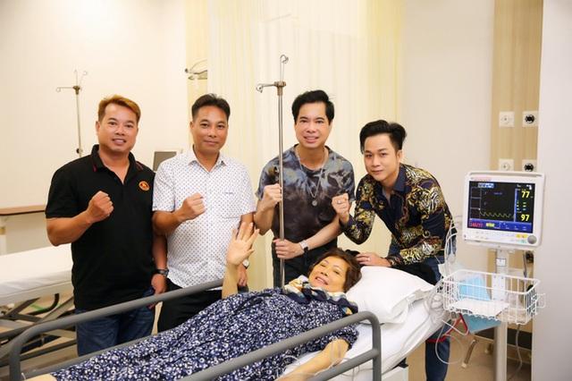 Mẹ Ngọc Sơn mắc bạo bệnh, sức khỏe suy kiệt phải điều trị ở Mỹ - Ảnh 3.