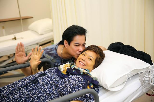 Mẹ Ngọc Sơn mắc bạo bệnh, sức khỏe suy kiệt phải điều trị ở Mỹ - Ảnh 4.