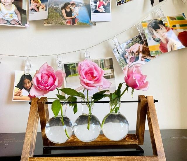 Căn hộ ngập sắc hoa của Ngọc Diễm - Ảnh 7.