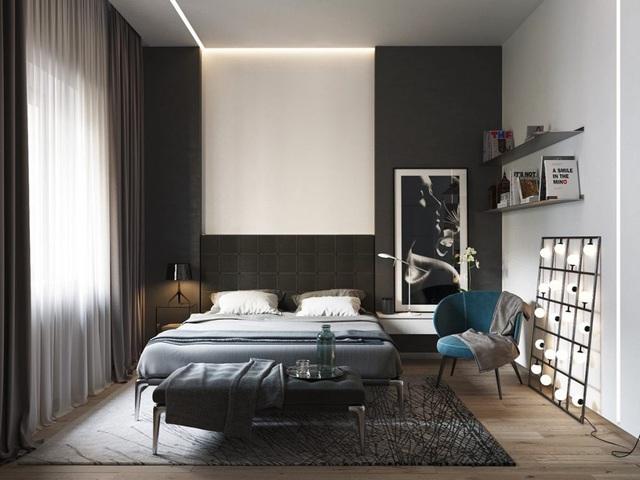 Ý tưởng thiết kế nội thất phòng ngủ diện tích 15m² với chi phí dưới 20 triệu đồng - Ảnh 9.