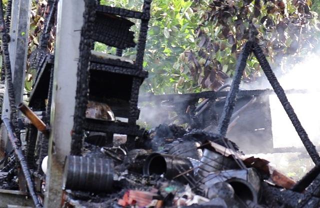 Cô gái tử vong trong căn nhà bị cháy - Ảnh 1.