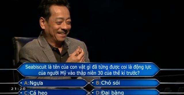 Nghệ sĩ hài hước, trả lời đúng nhiều nhất ở Ai là triệu phú - Ảnh 2.