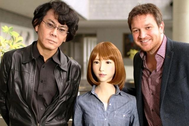 Hollywood dùng robot đóng nữ chính - Ảnh 1.