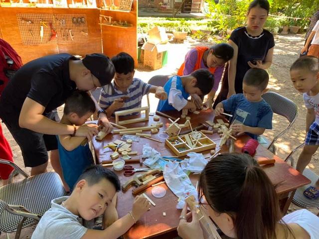 """MC Minh Trang đem """"Ngày hội gia đình đến làng trẻ em SOS - Ảnh 5."""