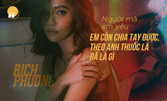 Bích Phương và những câu hát cool ngầu làm nên thương hiệu - Ảnh 2.