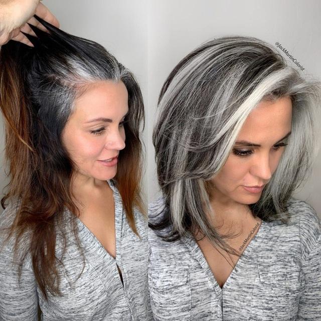 Dịch vụ nhuộm tóc bạc giá nghìn đô vẫn được yêu thích - Ảnh 2.