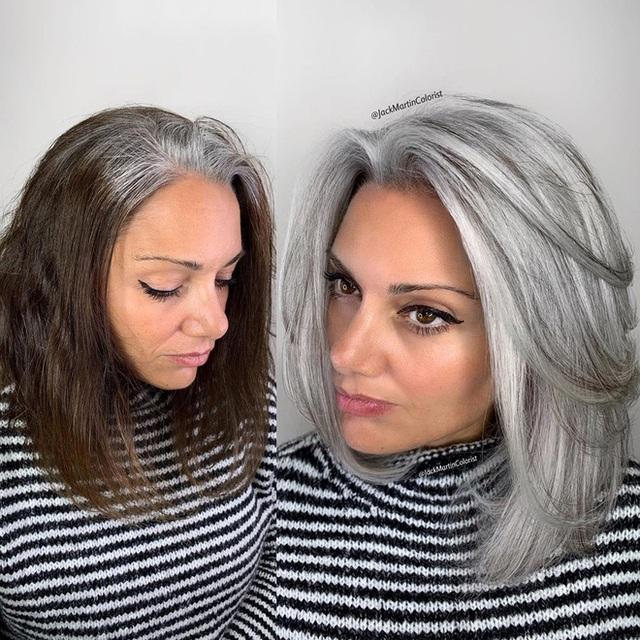 Dịch vụ nhuộm tóc bạc giá nghìn đô vẫn được yêu thích - Ảnh 5.