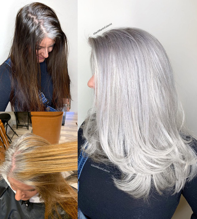 Dịch vụ nhuộm tóc bạc giá nghìn đô vẫn được yêu thích - Ảnh 6.