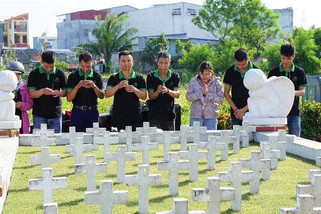 Lễ tang đặc biệt của hơn 400 thai nhi xấu số tại Hải Phòng - Ảnh 6.