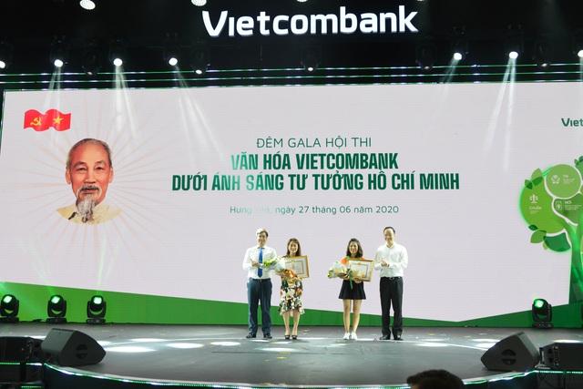 """Hội thi """"Văn hoá Vietcombank dưới ánh sáng tư tưởng Hồ Chí Minh"""" thành công tốt đẹp - Ảnh 3."""