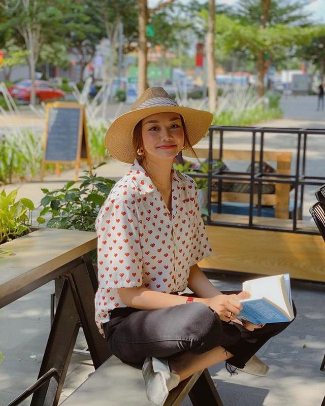 Style hè của bạn sẽ thật nhàm chán nếu còn chưa sắm ngay em áo họa tiết như sao Việt - Ảnh 6.