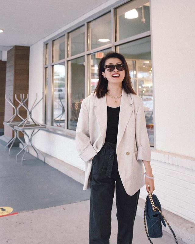 Nàng fashion blogger gợi ý 9 set màu trung tính để chị em công sở dù vụng về hay không có nhiều đồ vẫn mặc đẹp khỏi nghĩ - Ảnh 8.