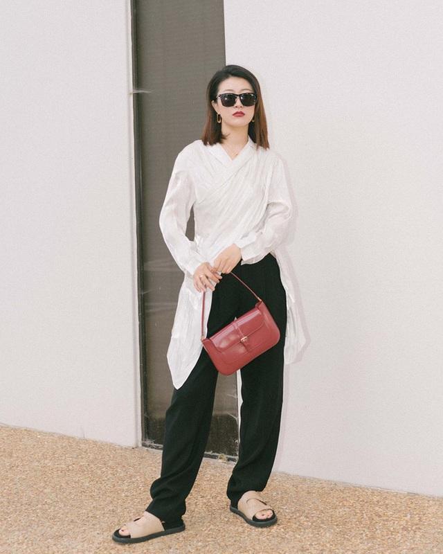 Nàng fashion blogger gợi ý 9 set màu trung tính để chị em công sở dù vụng về hay không có nhiều đồ vẫn mặc đẹp khỏi nghĩ - Ảnh 9.