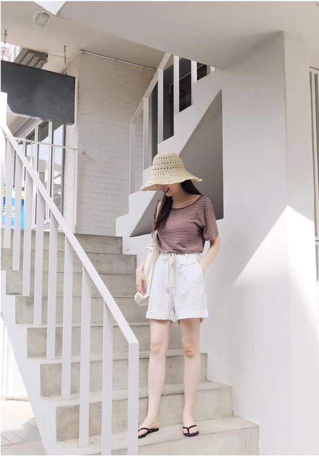 Ai cũng biết quần short ống rộng là item hot nhất hè 2020, mix với kiểu áo nào cho sành điệu mới khó - Ảnh 11.