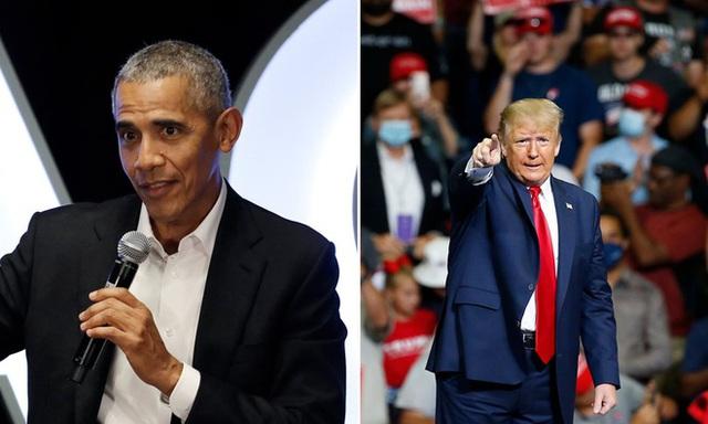 Ông Obama lên tiếng mạnh mẽ chưa từng thấy về Tổng thống Trump - Ảnh 1.
