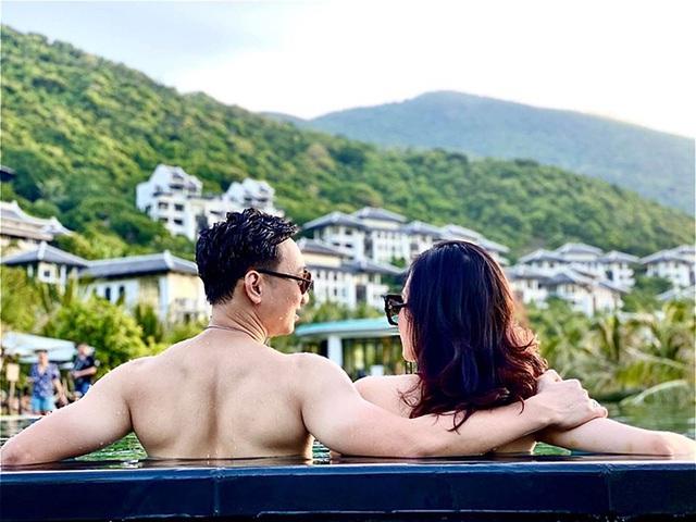 Vợ chồng Thành Trung trốn con đi nghỉ dưỡng - Ảnh 7.