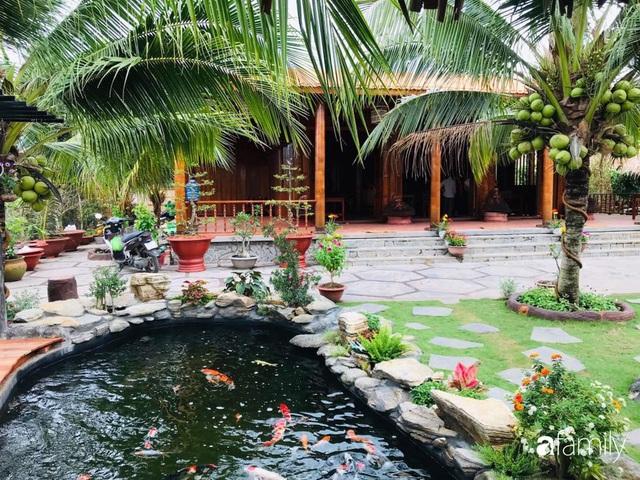 Ngôi nhà làm từ 4000 trái dừa có chi phí xây dựng lên đến 6 tỷ ở Vĩnh Long và tâm nguyện của chủ nhà khiến ai cũng bất ngờ - Ảnh 2.