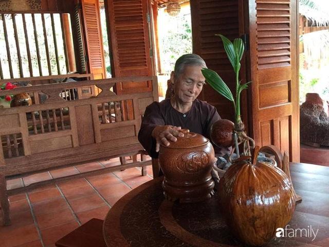 Ngôi nhà làm từ 4000 trái dừa có chi phí xây dựng lên đến 6 tỷ ở Vĩnh Long và tâm nguyện của chủ nhà khiến ai cũng bất ngờ - Ảnh 11.