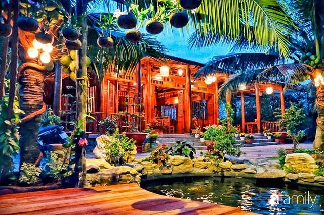 Ngôi nhà làm từ 4000 trái dừa có chi phí xây dựng lên đến 6 tỷ ở Vĩnh Long và tâm nguyện của chủ nhà khiến ai cũng bất ngờ - Ảnh 13.