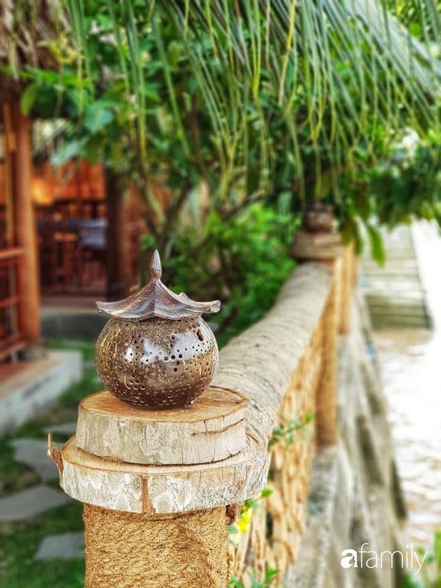 Ngôi nhà làm từ 4000 trái dừa có chi phí xây dựng lên đến 6 tỷ ở Vĩnh Long và tâm nguyện của chủ nhà khiến ai cũng bất ngờ - Ảnh 15.