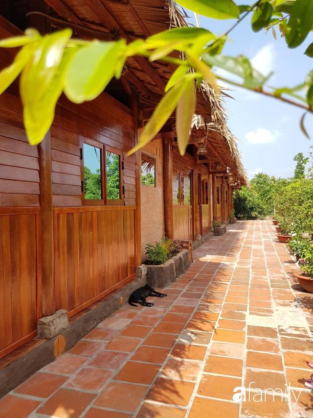 Ngôi nhà làm từ 4000 trái dừa có chi phí xây dựng lên đến 6 tỷ ở Vĩnh Long và tâm nguyện của chủ nhà khiến ai cũng bất ngờ - Ảnh 16.