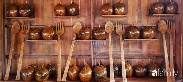 Ngôi nhà làm từ 4000 trái dừa có chi phí xây dựng lên đến 6 tỷ ở Vĩnh Long và tâm nguyện của chủ nhà khiến ai cũng bất ngờ - Ảnh 27.