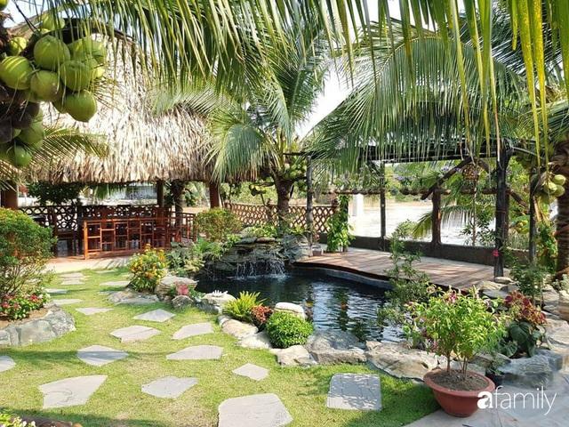 Ngôi nhà làm từ 4000 trái dừa có chi phí xây dựng lên đến 6 tỷ ở Vĩnh Long và tâm nguyện của chủ nhà khiến ai cũng bất ngờ - Ảnh 5.