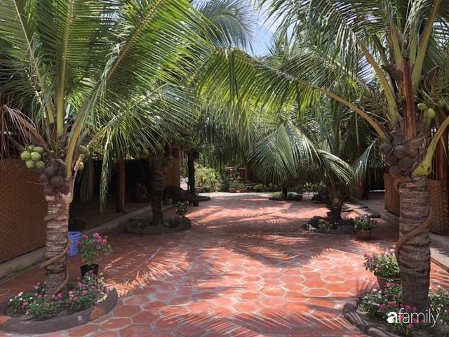 Ngôi nhà làm từ 4000 trái dừa có chi phí xây dựng lên đến 6 tỷ ở Vĩnh Long và tâm nguyện của chủ nhà khiến ai cũng bất ngờ - Ảnh 9.