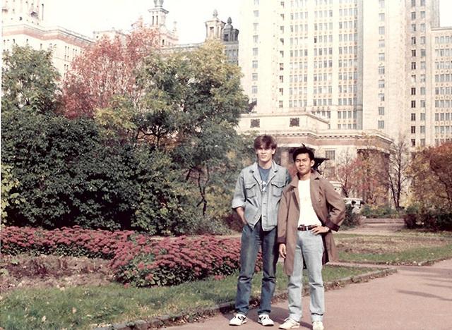 Ảnh hiếm: Cuộc sống sinh viên của ca sĩ nổi tiếng tên Trường ở Nga thập niên 1980 - Ảnh 1.