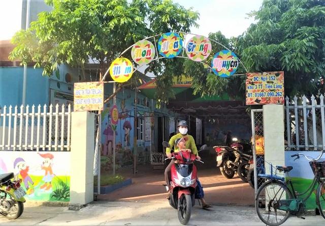 Thực hư vụ cô giáo mầm non dùng nịt bắn học sinh ở Tiên Lãng, Hải Phòng - Ảnh 2.