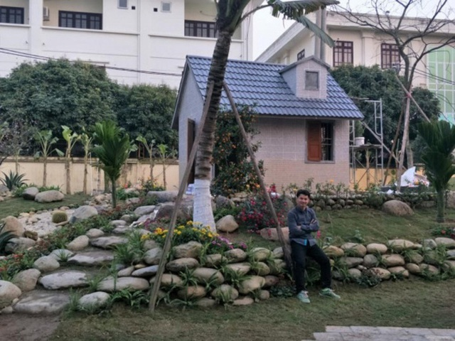 Sân vườn trong biệt thự bạc tỷ của 3 nam diễn viên nổi tiếng nhất nhì showbiz Việt, ai nhìn cũng phải ngưỡng mộ - Ảnh 8.