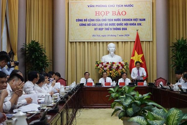 Công bố Lệnh của Chủ tịch nước về 10 Luật vừa được Quốc hội thông qua - Ảnh 1.