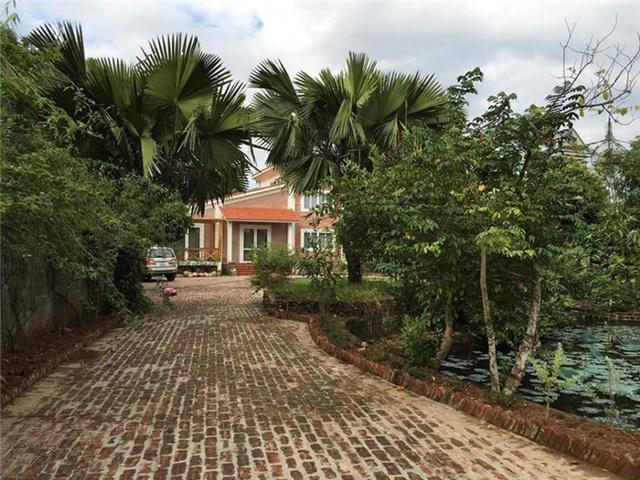 Sân vườn trong biệt thự bạc tỷ của 3 nam diễn viên nổi tiếng nhất nhì showbiz Việt, ai nhìn cũng phải ngưỡng mộ - Ảnh 13.