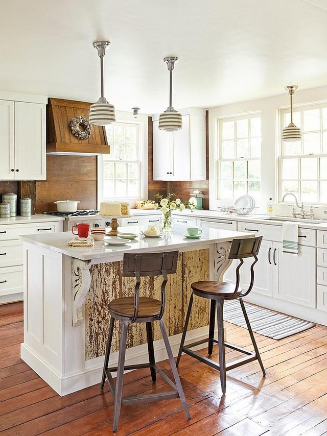 Kiến trúc sư bày cách sử dụng gam màu trắng và 5 kiểu kết hợp đình đám cho không gian bếp của các gia đình - Ảnh 1.