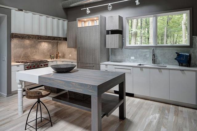 Kiến trúc sư bày cách sử dụng gam màu trắng và 5 kiểu kết hợp đình đám cho không gian bếp của các gia đình - Ảnh 15.