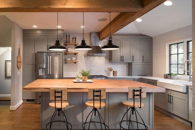 Kiến trúc sư bày cách sử dụng gam màu trắng và 5 kiểu kết hợp đình đám cho không gian bếp của các gia đình - Ảnh 16.