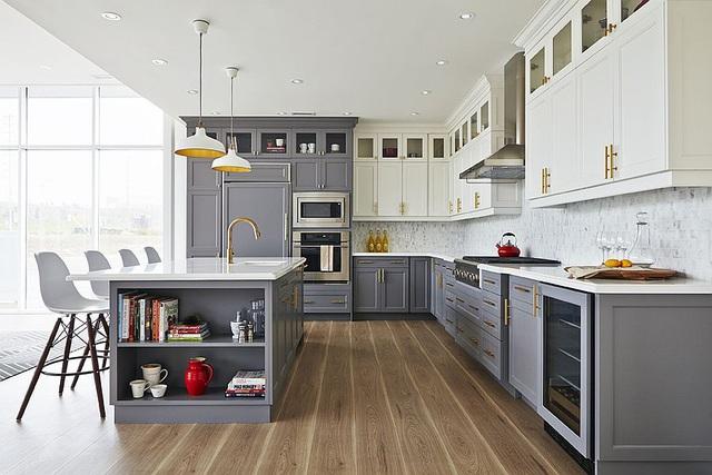 Kiến trúc sư bày cách sử dụng gam màu trắng và 5 kiểu kết hợp đình đám cho không gian bếp của các gia đình - Ảnh 18.