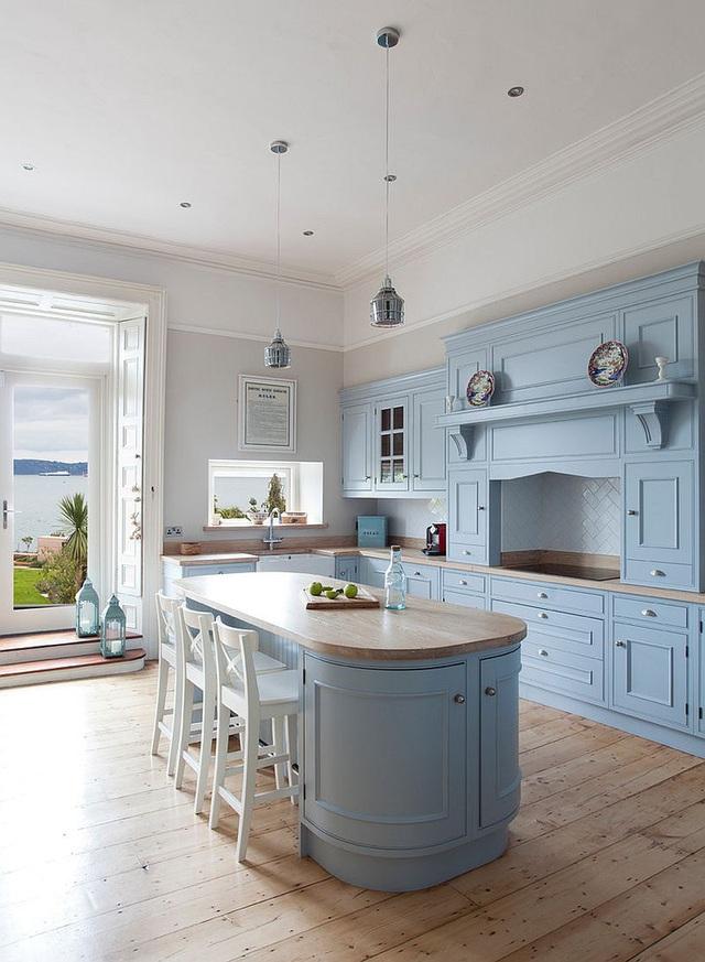 Kiến trúc sư bày cách sử dụng gam màu trắng và 5 kiểu kết hợp đình đám cho không gian bếp của các gia đình - Ảnh 19.