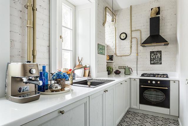 Kiến trúc sư bày cách sử dụng gam màu trắng và 5 kiểu kết hợp đình đám cho không gian bếp của các gia đình - Ảnh 32.