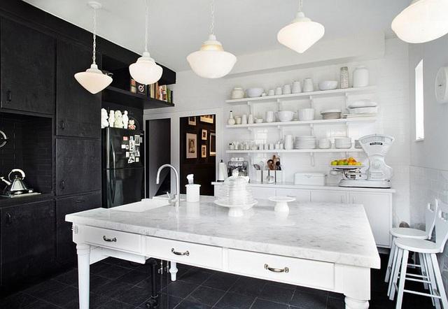 Kiến trúc sư bày cách sử dụng gam màu trắng và 5 kiểu kết hợp đình đám cho không gian bếp của các gia đình - Ảnh 35.