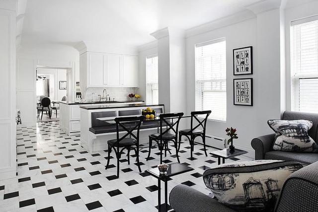 Kiến trúc sư bày cách sử dụng gam màu trắng và 5 kiểu kết hợp đình đám cho không gian bếp của các gia đình - Ảnh 40.