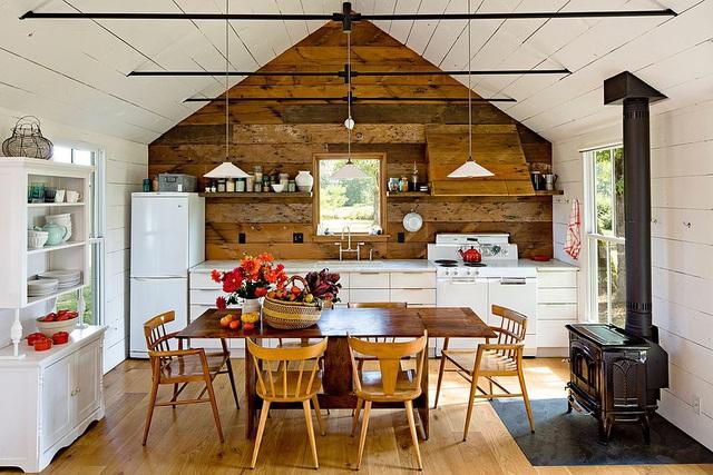 Kiến trúc sư bày cách sử dụng gam màu trắng và 5 kiểu kết hợp đình đám cho không gian bếp của các gia đình - Ảnh 5.