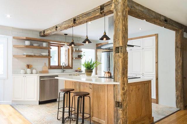 Kiến trúc sư bày cách sử dụng gam màu trắng và 5 kiểu kết hợp đình đám cho không gian bếp của các gia đình - Ảnh 6.