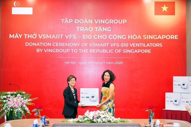 Vingroup trao tặng 1.000 máy thở cho Nga, Ucraina và Singapore - Ảnh 3.