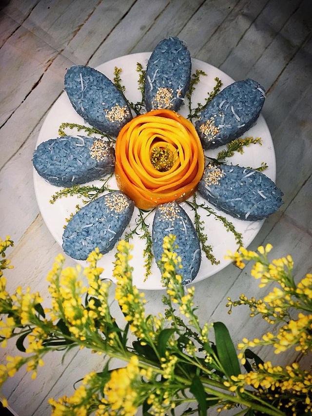 Mẹ 8x gây bão MXH với loạt món ăn xanh mướt từ hoa đậu biếc, chỉ nhìn đã thấy mát lịm tim! - Ảnh 12.