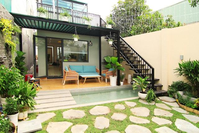 Căn nhà phố bên ngoài thì giản dị nhưng bên trong lại vô cùng sinh động ở Sài Gòn - Ảnh 12.